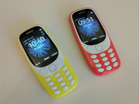 [Video] Review New Nokia 3310 2017