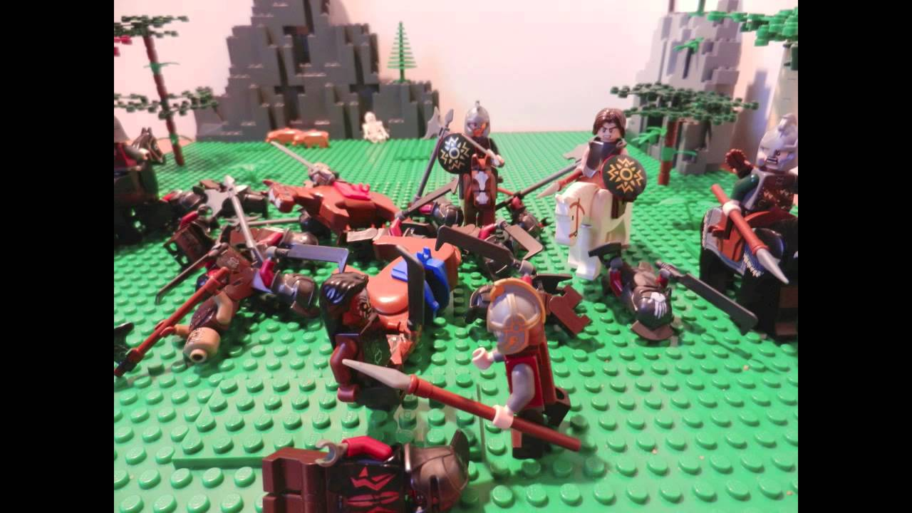 """LEGO Lord of the Rings """"Riders of Rohan"""" Movie Battle"""