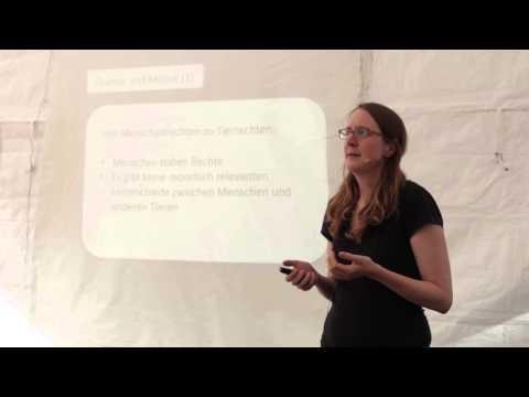 Vegan Street Day 2014 Dortmund: Dr. Friederike Schmitz