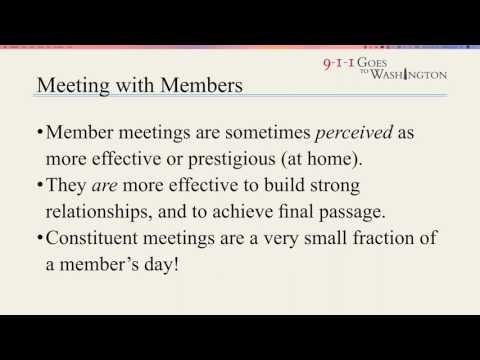 2017 911GTW Webinar Series #3 - Effective Meetings & Legislative Priorities