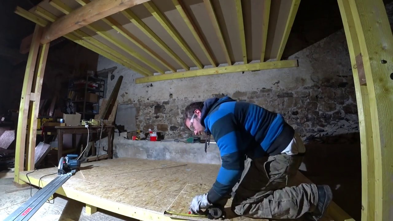 La grange construction osb dune pièce dédiée informatique et électronique partie 1