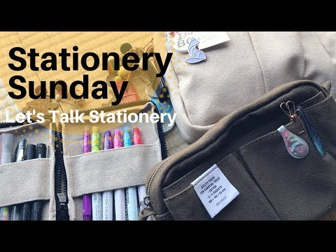 Stationery Sunday - Let's Talk Stationery | Episode 1