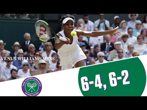 Wimbledon 2017: 37 year old Venus Williams beats Johanna Konta  to reach finals !!!