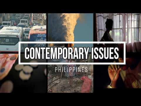 Contemporary Issues Of The Philippines