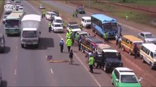 Three People Dead After A Grisly Road Accident Along Kericho-Nakuru Highway