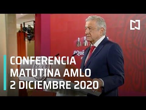 Conferencia matutina AMLO / 2 de diciembre 2020