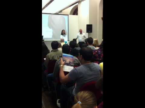 Liana Allan Promotes Migration Alliance at Down Under Expo, Sydney Town Hall 2011