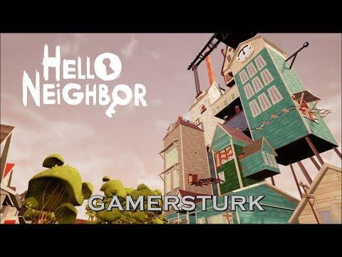 Hello Neighbor | YENİ DEVASA EV! - MODS [Türkçe] #91