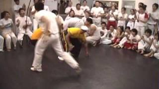 Capoeira Roda de Angola no Batizado CapuJapão Osaka Japan 2007