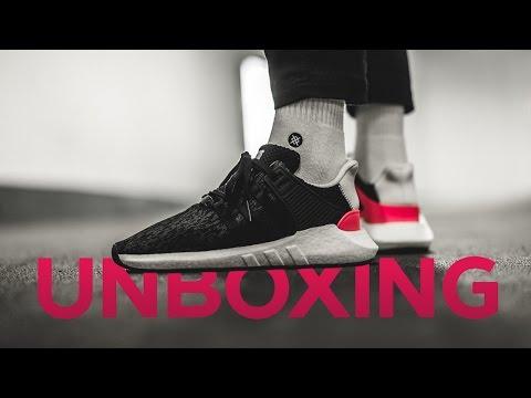 Unboxing и обзор кроссовок adidas EQT Support 93/17