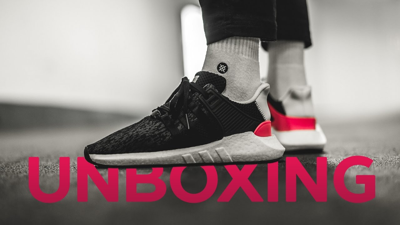 e84446337 Unboxing и обзор кроссовок adidas EQT Support 93/17 - YouTube