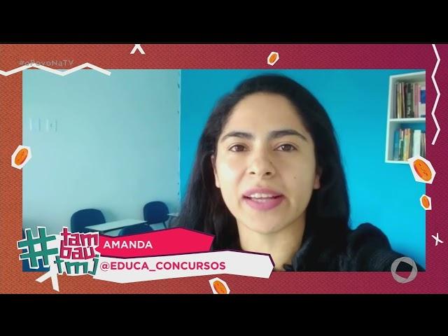 Tambaú TMJ: Amanda Educa Concursos -15 04 2021 - O Povo na TV