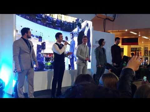 Collabro - Let It Go (Merry Hill Christmas Lights)