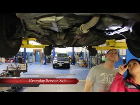 Curry Honda Service Training