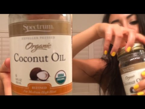 Night Time Routine - Coconut Oil