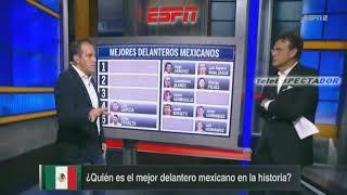 Cuauhtemoc Blanco escoge a los 5 mejores delanteros mexicanos de la historia - Futbol Picante