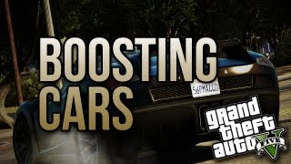 Boosting Rich People Cars! (GTA V Online)