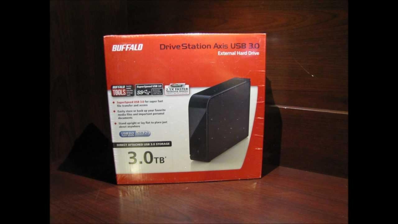 Buffalo Technology Drivestation 3Tb Usb3.0 7200Rpm Hard Drive