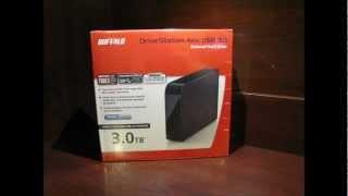 Review of the Buffalo DriveStation Axis USB 3.0 3TB External Hard Drive
