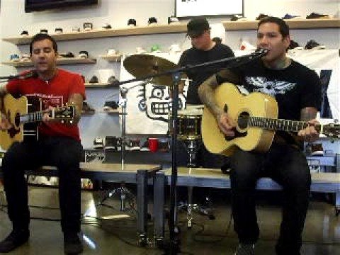 MxPx Acoustic In-Store, San Marcos Ca.
