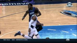 Richard Jefferson dunks on MKG