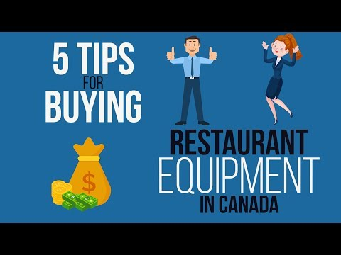 5 Tips For Buying Kitchen Equipment In Canada