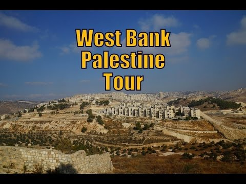 A Tour of the West Bank / Palestine visiting Bethlehem, Jeri