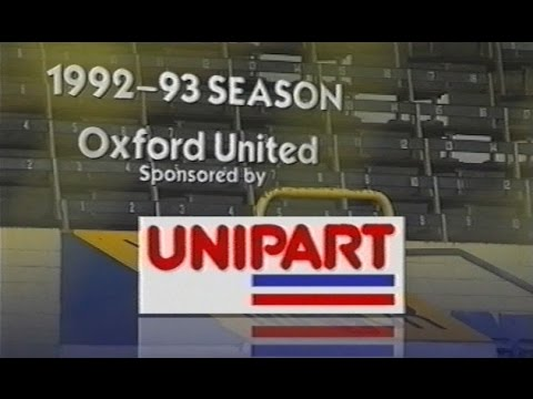 OXFORD UNITED - Official Season Review 1992-93