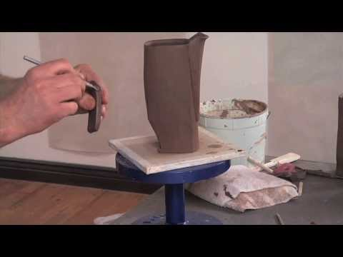 Pottery Video: A Slab-built Spout | MARTY FIELDING