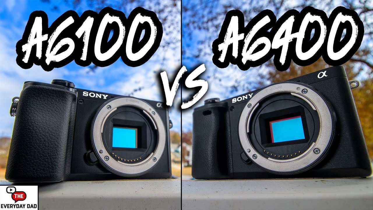 Sony A6100 VS Sony A6400 | What's the Difference?!