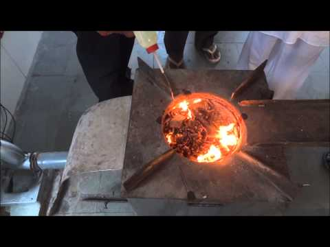 Earth Stove and Pellets Demonstration