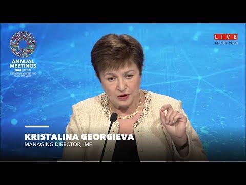 Kristalina Georgieva citó los casos exitosos de la Argentina y Ecuador
