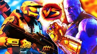 Master Chief VS Thanos - Who would win? (HALO MCU WAR)