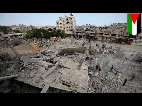 Gaza crisis: Israel strike on UN school kills 10