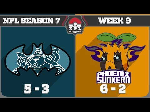 "NPL Majors S7W9 Gotham City Golurks vs Phoenix Sunkerns- ""Think Straight"""