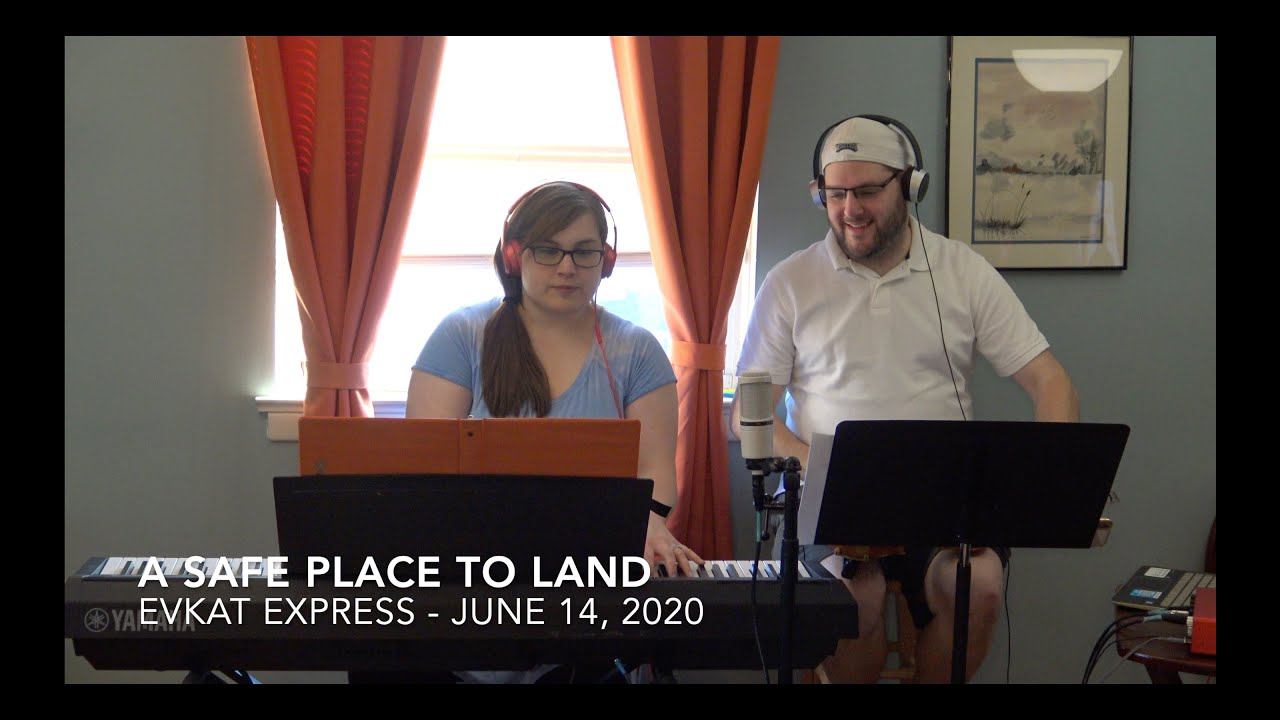 Download A Safe Place to Land (EvKat Cover)