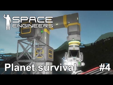 Space engineers: Oww Snap! | Weird mining contraption