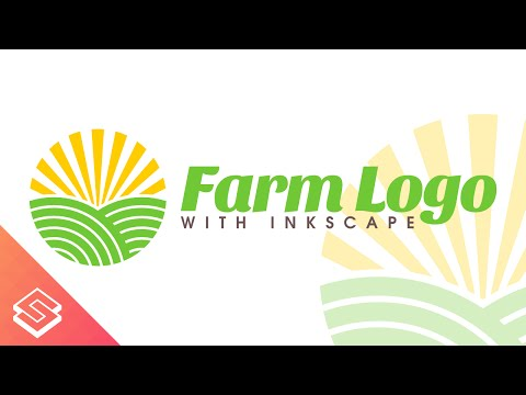 Inkscape for Beginners: Create a Farm Logo - Tutorial