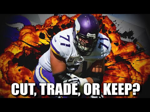 Will the Minnesota Vikings Keep, Cut, or Trade Left Tackle Riley Reiff?