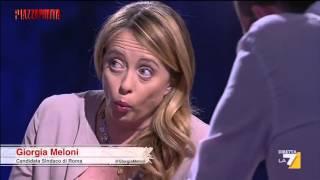 L'intervista Integrale A Giorgia Meloni Candidato A Sindaco Di Roma