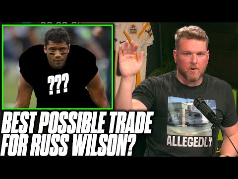 Pat McAfee Reacts To WILD Russell Wilson Trade Theory