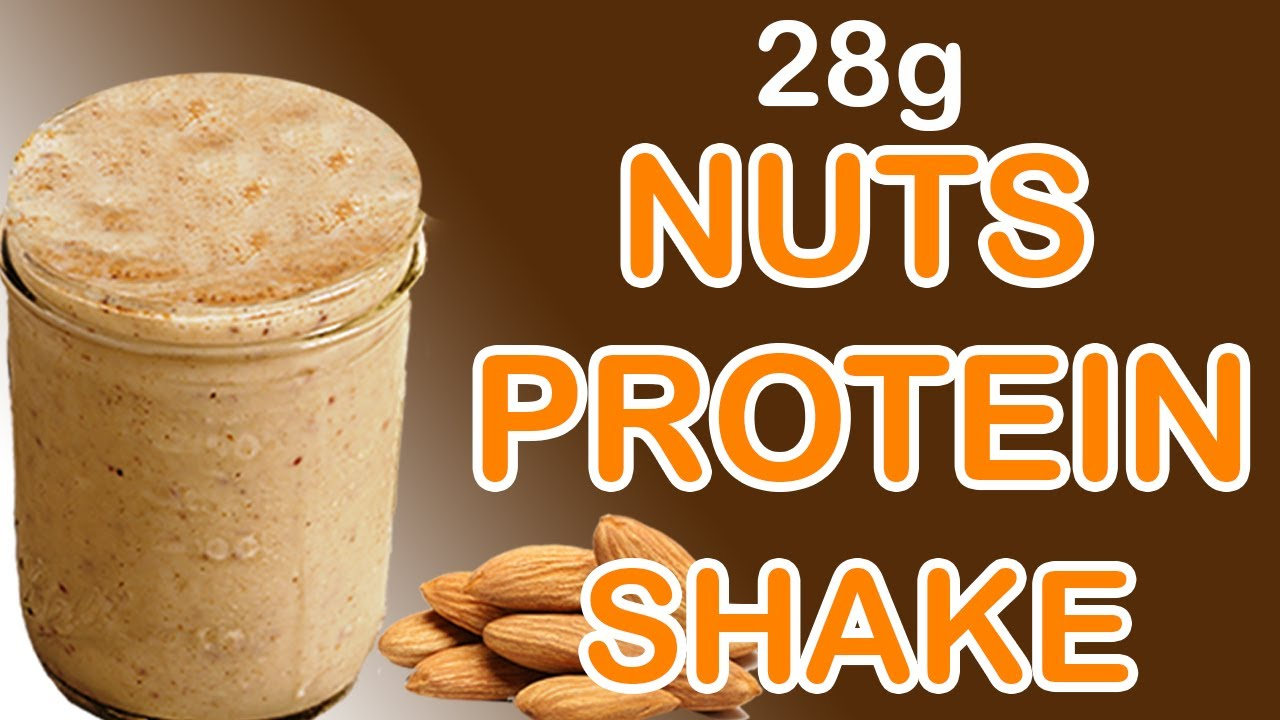 How To Make Nuts Protein Shake At Home Without Protein