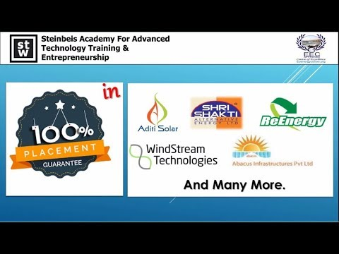 Jobs In Solar Industry - 100% Placement Guarantee