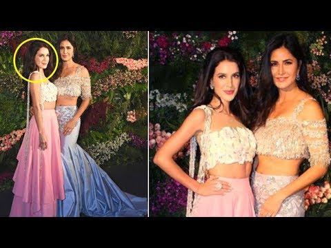 Katrina Kaif With HOT Sister Isabel Kaif At Virat Kohli Anushka Sharma's Wedding Reception 2017