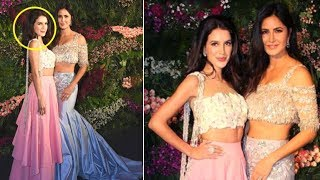 Katrina Kaif With HOT Sister Isabel Kaif At Virat Kohli Anushka Sharma's Wedding Reception 2017