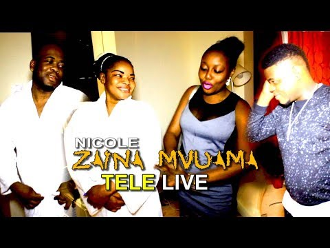 Tele Live :  ZAINA Mvuama  Apres Fete 478 Champagnes Etikali Akabeli Trecy Pro Na Glody Diasuka