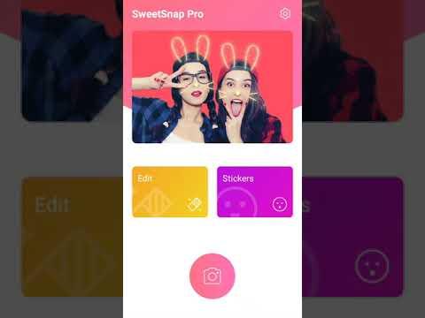 Sweet Snap App / Live Filters Selfie Photo / Editor Cam
