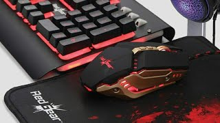 Redgear Manta (MT21) Perfect budget Gaming Keyboard & Mouse Combo Review!