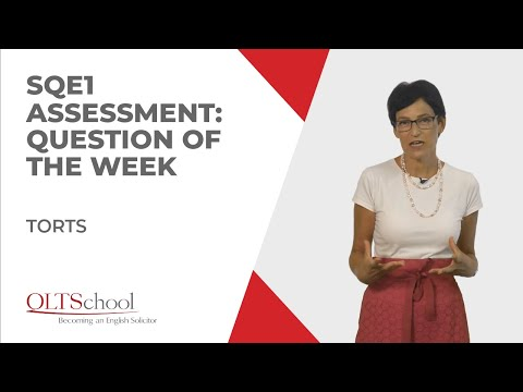 SQE1 Assessment – Question of the Week: Torts (Vicarious Liability)