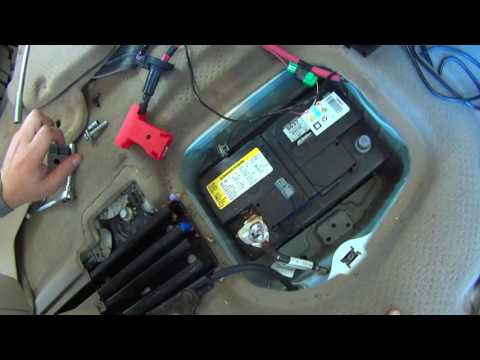 How To Replace Battery in GMC Acadia, Chevy Traverse, and Buick Enclave Vehicles